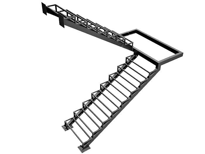Лестница в дом металлическая в Сыктывкаре
