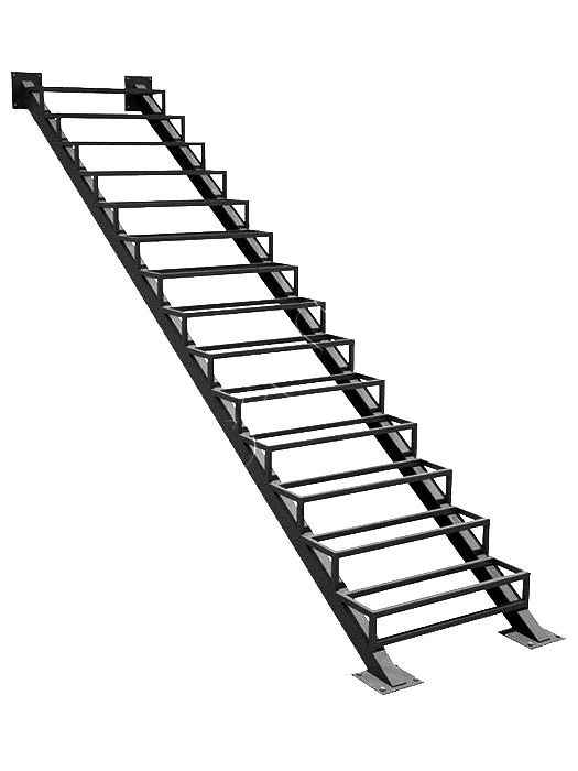 Каркас металлической лестницы в Сыктывкаре