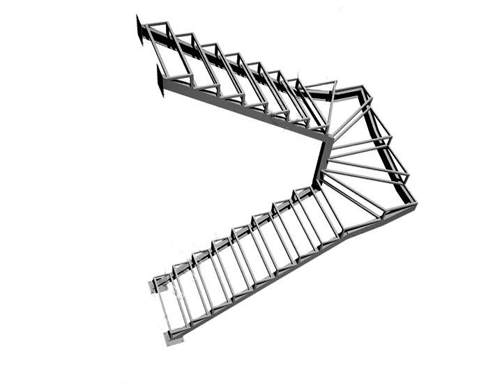Лестница металлическая в Сыктывкаре