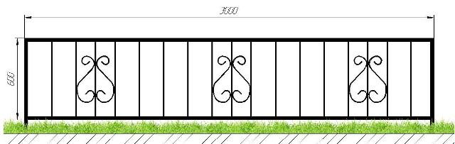 Купить оградку в Сыктывкаре