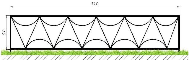 Дешевые оградки в Сыктывкаре