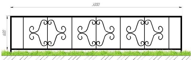 Изготовление оградок на кладбище