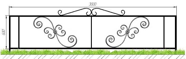 Ограда на кладбище купить в Сыктывкаре