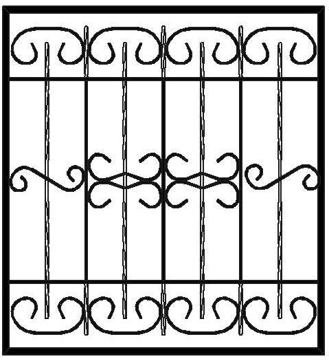 Стоимость изготовления решетки на окно в Сыктывкаре