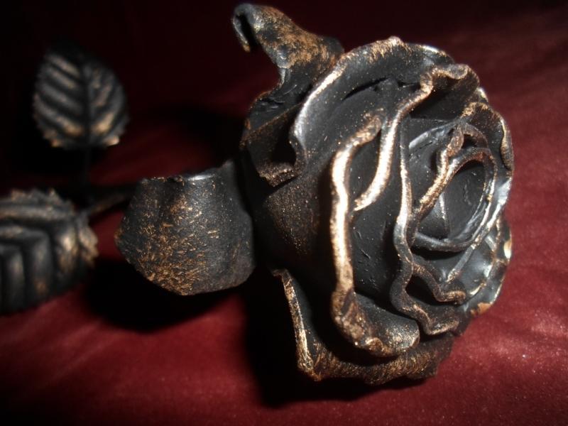 Сколько стоит кованая роза в Сыктывкаре. Роза из металла. Железная роза