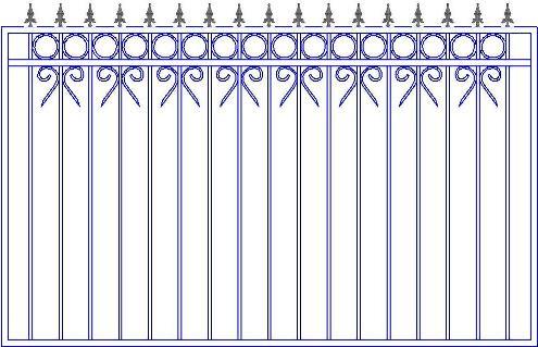 Где заказать кованый забор