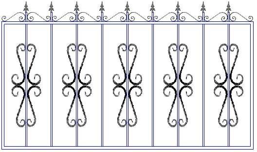 Сварной забор в Сыктывкаре