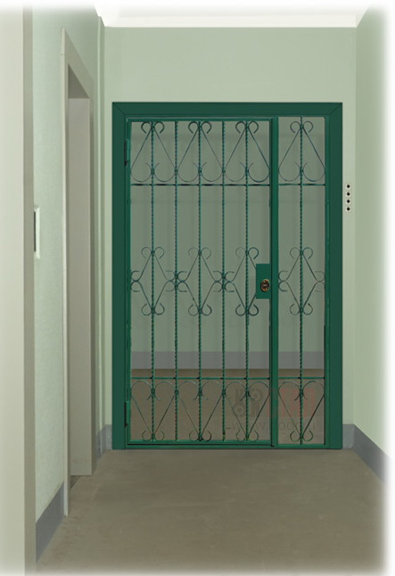 решетчатые двери цены. купить решетчатую дверь. решетчатые двери на лестничную площадку