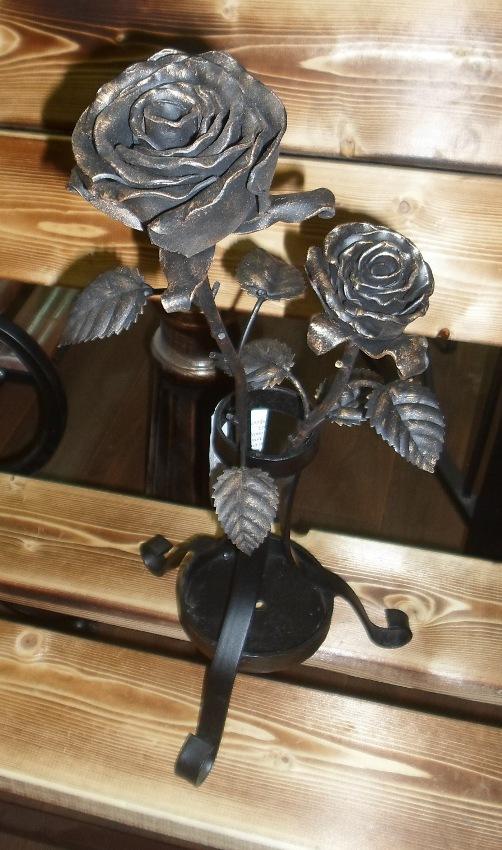 где купить кованые розы в Сыктывкаре. Роза кованая Сыктывкар